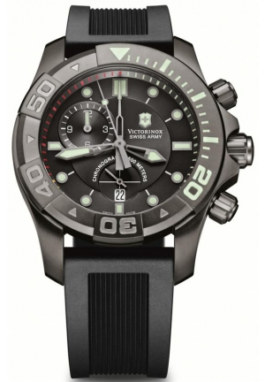 Men's Dive Master Black Dial Watch 241421 43mm