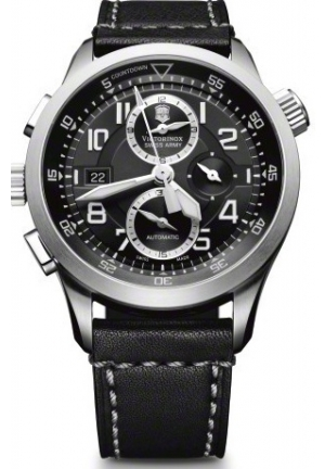 VICTORINOX SWISS ARMY Men's AirBoss Mach 8 Special Edition Black Chronograph Dial Watch 241446 45mm