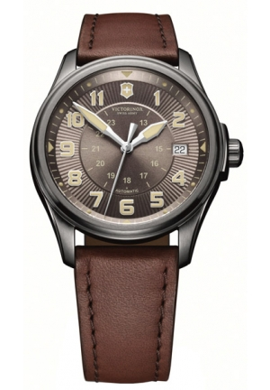 Men's Swiss Automatic Brown Watch 241519 38mm