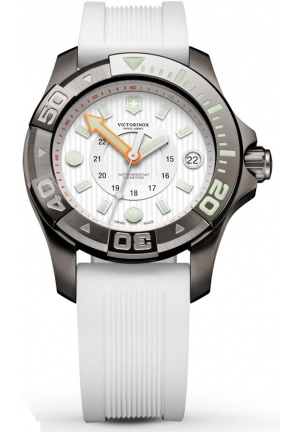 VICTORINOX SWISS ARMY Dive Master 500 White Dial Ladies Watch 241559 38mm