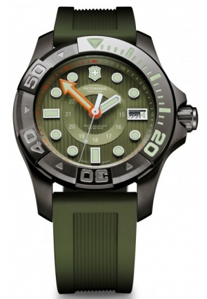 VICTORINOX SWISS ARMY Dive Master 500 Olive Green Dial Men's Watch 241560 43mm