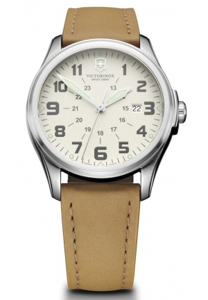 Unisex Infantry Swiss Quartz Beige Watch 241581 38mm