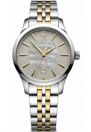 ALLIANCE SMALL STAINLESS LADIES WATCH 241753, 35MM