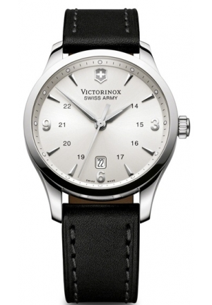 VICTORINOX SWISS ARMY Alliance Silver-Tone Dial Men's Watch 249034 41mm