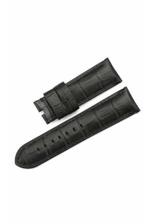 24mm Genuine Leather PreV Watch Band Embossed