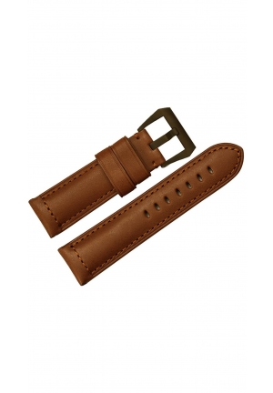 24mm Matte Replacement Watch Strap Brown