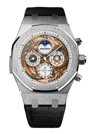 AUDEMARS PIGUET Royal Oak Grande Complication Automatic White Gold Mens Watch 26552BC, 44mm