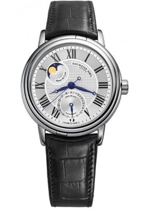 Maestro Automatic Moon Phase Leather Men's Watch