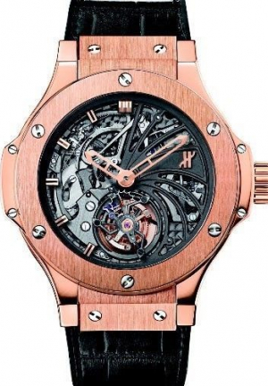 HUBLOT BIG BANG MINUTE REPEATER TOURBILLON LIMITED EDITION WATCH 304.PX.1180.LR, 44MM