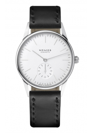 Nomos Glashuette Orion white 306, 35mm