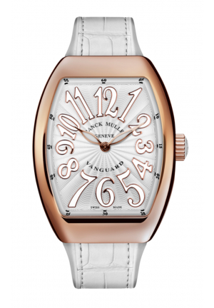 FRANCK MULLER LADIES COLLECTION VANGUARD V 32 QZ ROSE GOLD