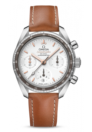 SPEEDMASTER NOVO NAPPA 38 CO-AXIAL CHRONOGRAPH MEN'S WATCH 32432385002001