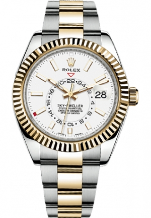 SKY-DWELLER STEEL AND YELLOW GOLD 326933-0009, 42MM