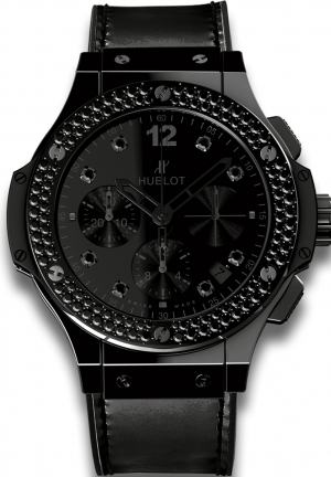 HUBLOT Big Bang All Black Shiny 41mm