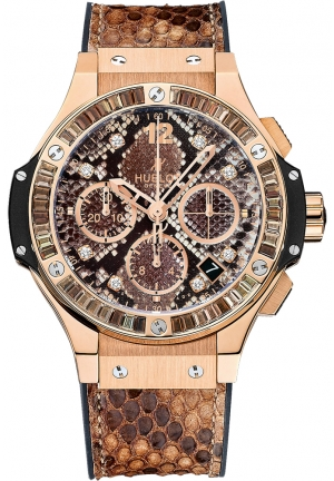 HUBLOT Big Bang Boa Bang Gold Brown 41mm