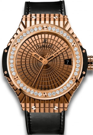 HUBLOT Big Bang Gold Caviar Diamonds 41mm