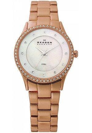 Women's Rose Gold Plated Stainless Steel Bracelet 30mm
