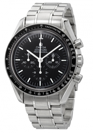 Omega Speedmaster Professional Moonwatch with Hesalite and Sapphire