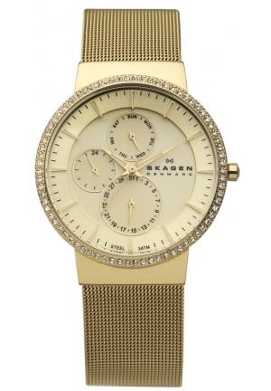 Skagen Women's Gold Tone 37mm