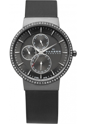 Skagen Women's Stainless Steel Grey Dial Watch