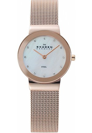 Women's Rose Gold Ion-Plated Stainless Steel Mesh Bracelet 26mm