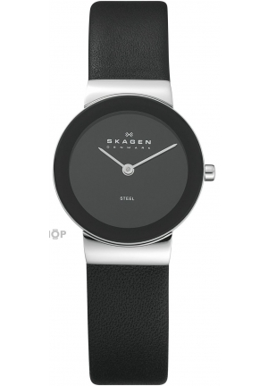 Skagen Ladies Watch Slimline Leather