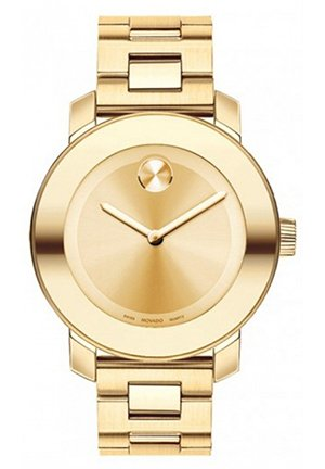 MOVADO Bold Champagne Dial Yellow Gold Stainless Steel Watch, 36mm