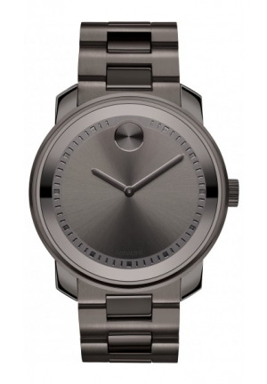 MOVADO Bold Large Gunmetal Gray Stainless Steel , 42,5mm