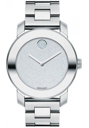 MOVADO Bold Silver Dial Stainless Steel LadiesWatch