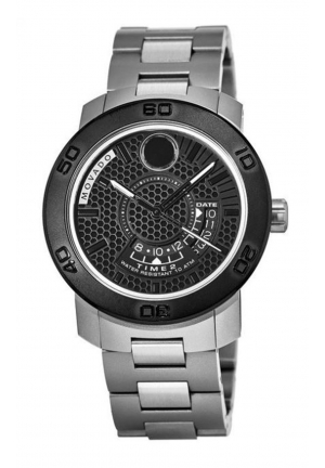 MOVADO BOLD GMT MEN'S WATCH , 43.5mm