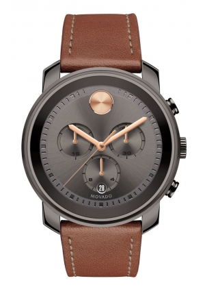 LARGE MOVADO BOLD CHRONOGRAPH, 44MM