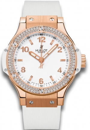 HUBLOT Big Bang Quartz Gold White 38mm