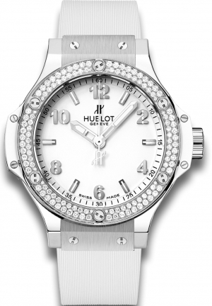 HUBLOT Big Bang Steel White Diamonds 38mm
