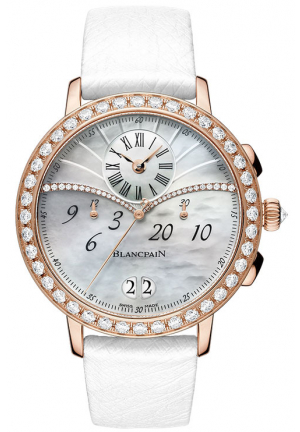 LADIES CHRONOGRAPH FLYBACK GRANDE DATE 3626-2954-58A, 38.6MM