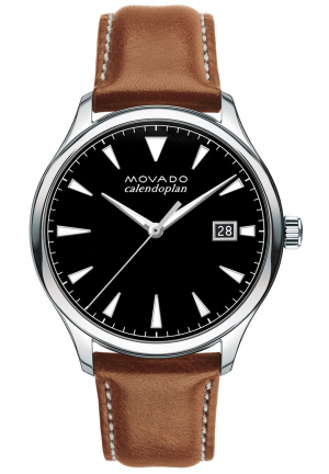 MOVADO HERITAGE SERIES CALENDOPLAN STAINLESS MEN'S WATCH