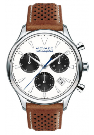 HERITAGE SERIES CALENDOPLAN CHRONOGRAPH STAINLESS MEN'S WATCH