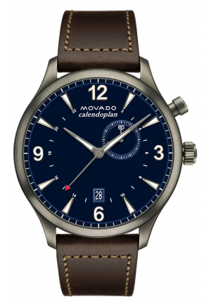 HERITAGE SERIES CALENDOPLAN GMT MEN'S WATCH