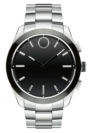 BOLD MOTION CONNECT II STAINLESS MEN'S SMARTWATCH, 44MM
