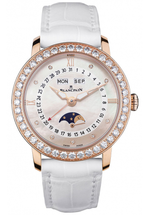 LADIES MOONPHASE & COMPLETE CALENDAR 3663-2954-55B, 35MM