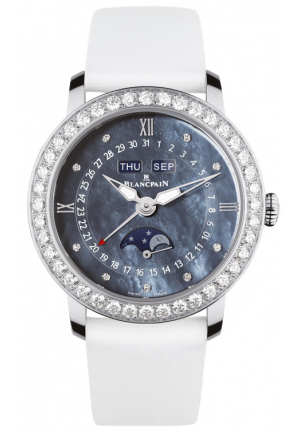 LADIES MOONPHASE & COMPLETE CALENDAR 3663-4654L-52B, 35MM