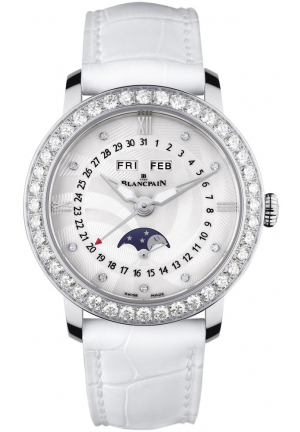 LADIES MOONPHASE & COMPLETE CALENDAR 3663A-4654-55B, 35MM