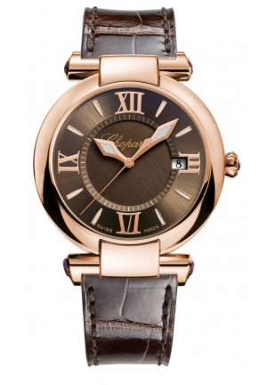 CHOPARD IMPERIALE 18k rose gold and amethysts, 36mm