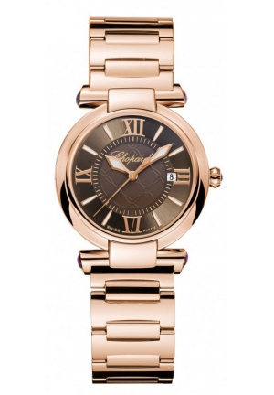 CHOPARD IMPERIALE 18k rose gold and amethysts, 28mm