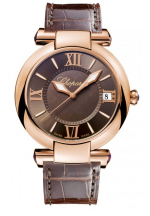 CHOPARD IMPERIALE 18k rose gold and amethysts, 40mm