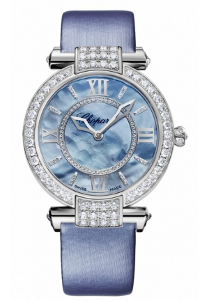 CHOPARD IMPERIALE 36 mm Watch 18-carat white gold and diamonds