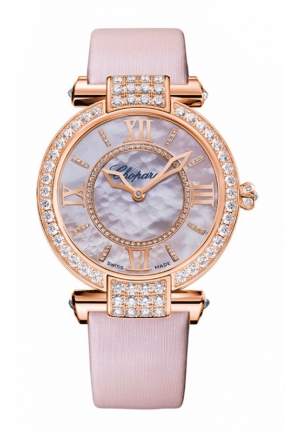 CHOPARD IMPERIALE 36 mm Watch 18-carat rose gold and diamonds