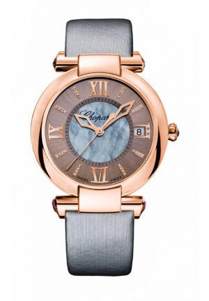 CHOPARD IMPERIALE 36 mm Watch 18-carat rose gold, amethysts and diamonds