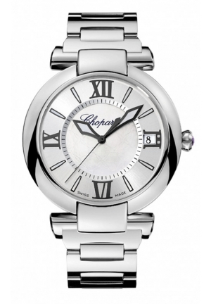 CHOPARD IMPERIALE 40 mm Watch stainless steel and amethyst