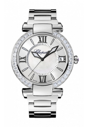 CHOPARD IMPERIALE 40 mm Watch stainless steel, amethyst and diamonds
