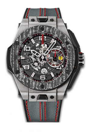 BIG BANG FERRARI CARBON LIMITED EDITION MEN'S WATCH 45MM